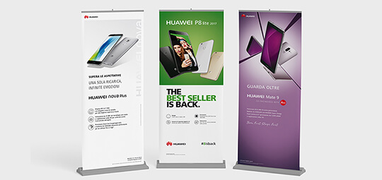 roll up Huawei
